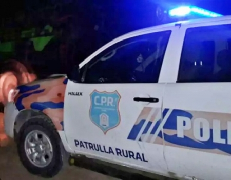 POLICÍA BALEADO CUANDO QUISO IDENTIFICAR UN VEHÍCULO EN LA ZONA RURAL