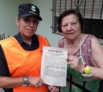 LA POLICIA COMUNAL BRAGADO  SE REUNIO CON JUBILADOS Y LANZO UNA CAMPAÑA PUERTA A PUERTA PARA EVITAR DELITOS