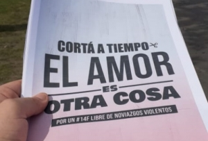 #CORTAATIEMPO: CAMPAÑA PARA VISIBILIZAR LOS VÍNCULOS VIOLENTOS DE LA JUVENTUD RADICAL