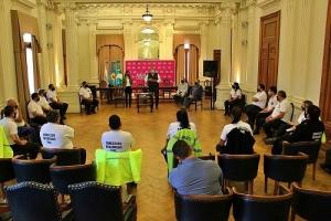 JUZGADO DE FALTAS Y SEGURIDAD VIAL COORDINARON ACCIONES JUNTO A LOS INSPECTORES