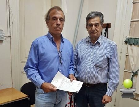 EL PRODUCTOR AGROPECUARIO ANIBAL MOLINA RECIBIO UNA SUBVENCION PARA SU PROYECTO DE ALGODON