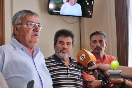 EL INTENDENTE MUNICIPAL RECIBIÓ A AUTORIDADES DEL CLUB CICLISTA NACIÓN