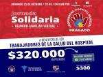 LA COOPERADORA DEL HOSPITAL Y BRAGADO CLUB LANZAN BINGO SOLIDARIO