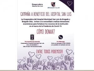 LA CAMPAÑA PARA RECAUDAR FONDOS PARA EL HOSPITAL YA SUMO 9 MILLONES