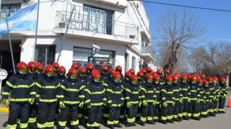 BOMBEROS DE BRAGADO DIFUNDIO LA NOMINA DE PERSONAL QUE LOGRO NUEVAS JERARQUIAS