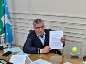 BRAGADO ENTRE LOS 42 NUEVOS MUNICIPIOS QUE FIRMARON ASISTENCIA FINANCIERA CON LA PROVINCIA
