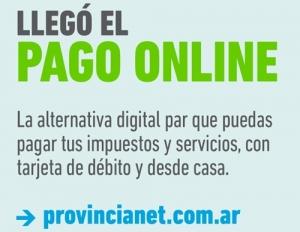 PAGO ONLINE DE PROVINCIA NET: LA WEB PARA ABONAR IMPUESTOS Y SERVICIOS SIN SALIR DE CASA