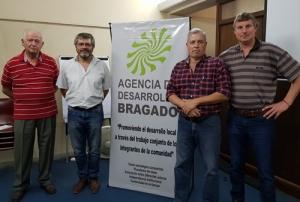 LUIS SCAFINI - REPRESENTANTE DE FEDERACION AGRARIA- ES EL NUEVO PRESIDENTE DE LA AGENCIA DE DESARROLLO