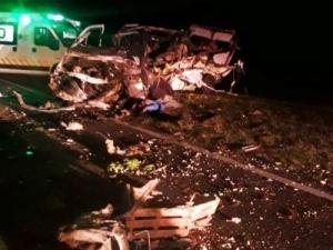 FATAL ACCIDENTE EN LA RUTA N° 5 EN CERCANÍAS DE SUIPACHA: HUBO DOS MUERTOS