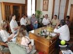 REUNION DEL INTENDENTE CON FUNCIONARIOS DE LA FACULTAD REGIONAL SAN NICOLAS DE LA UTN