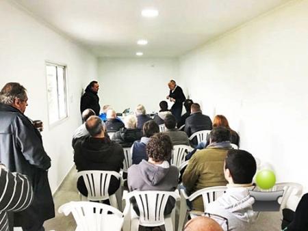 JORNADA DE CAPACITACION EN EL AERO CLUB PARA PILOTOS Y ALUMNOS