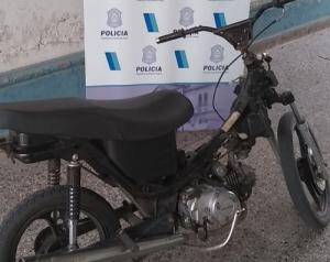 ROBARON UNA MOTO, PERO FUE RECUPERADA POR LA POLICIA