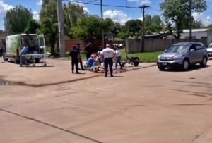 ACCIDENTE EN 12 DE OCTUBRE Y PALACIOS