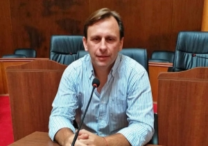 GERMAN MARINI BUSCA LA REELECCION COMO CONCEJAL POR EL FRENTE DE TODOS