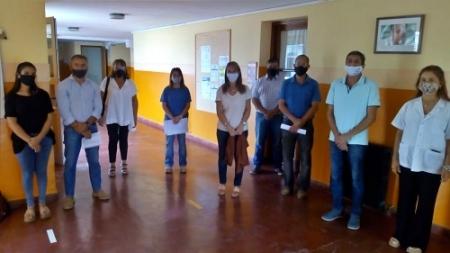 POR EL TRASLADO DE LA ESCUELA 502 SE DIERON EXPLICACIONES AUTORIDADES EDUCATIVAS