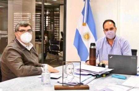 DURETTI SE REUNIO CON EL SECRETARIO DE HABITAT DE LA NACION